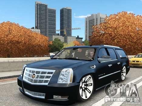 Cadillac Escalade ESV 2012 DUB для GTA 4