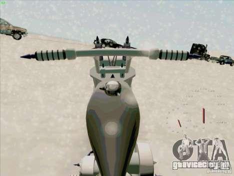 Harley для GTA San Andreas вид справа
