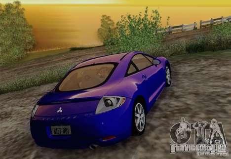 Mitsubishi Eclipse GT V6 для GTA San Andreas вид сбоку