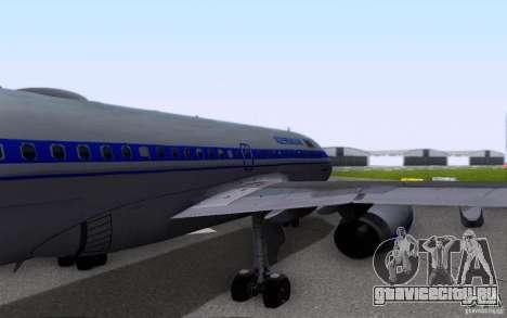 Airbus A-319 Azerbaijan Airlines для GTA San Andreas вид сбоку