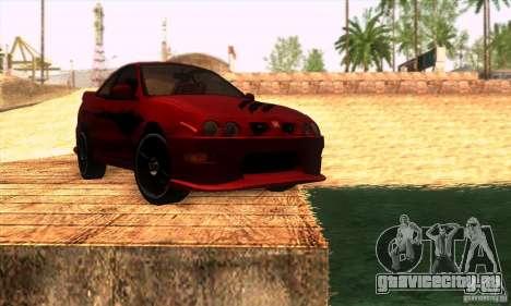 Honda Integra Tunable для GTA San Andreas двигатель