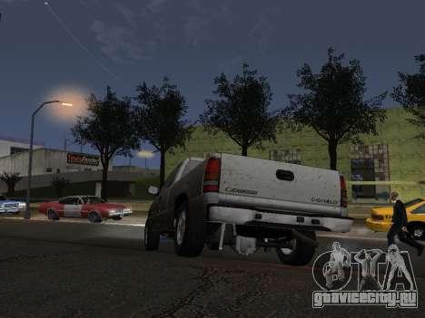 Chevorlet Silverado 2000 для GTA San Andreas вид сверху