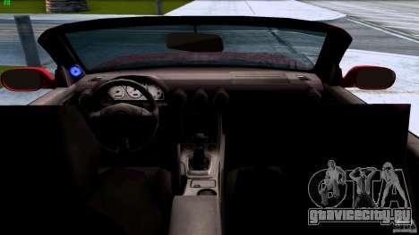 Nissan Silvia S15 Varietta для GTA San Andreas вид слева