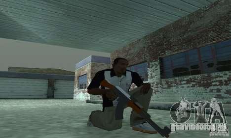 Новый АК-47 для GTA San Andreas второй скриншот