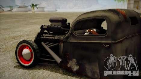 Rat Rod для GTA San Andreas вид слева