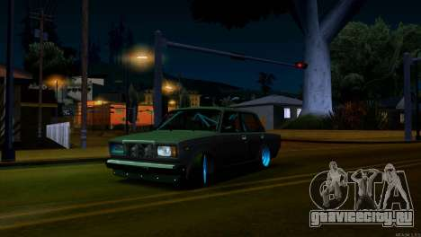 Ваз 2107 Боевая Классика для GTA San Andreas вид слева