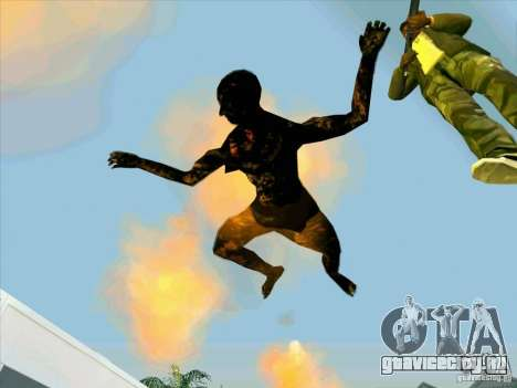 Обгоревшие тела для GTA San Andreas второй скриншот