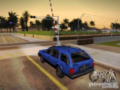 Nissan Bluebird Wagon для GTA San Andreas вид слева