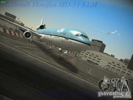 McDonnell Douglas MD-11 KLM Royal Dutch Airlines для GTA San Andreas