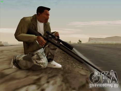 Remington 700 для GTA San Andreas четвёртый скриншот