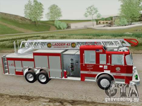 Pierce Arrow LAFD Ladder 43 для GTA San Andreas вид сверху