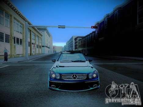 Mercedes-Benz CLK 55 AMG Coupe для GTA San Andreas вид сбоку