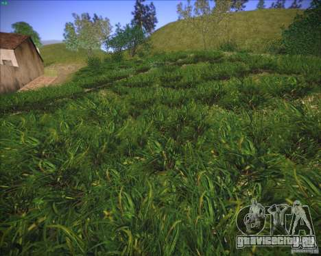 New grass для GTA San Andreas