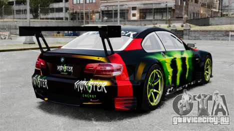 BMW M3 (E90) 2008 Monster Energy v1.2 для GTA 4