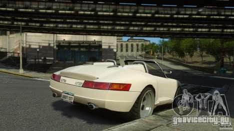 Comet Speedster для GTA 4 вид слева