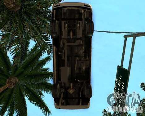 Khord ThunderWing для GTA San Andreas вид сзади слева