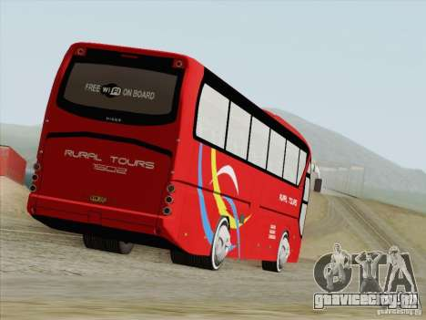 Neoplan Tourliner. Rural Tours 1502 для GTA San Andreas вид сзади слева