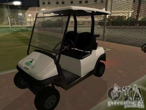 Caddy из GTA TBoGT для GTA San Andreas вид сзади
