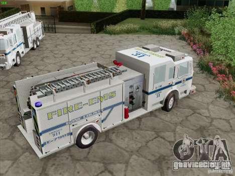 Pierce Pumpers. B.C.F.D. FIRE-EMS для GTA San Andreas салон