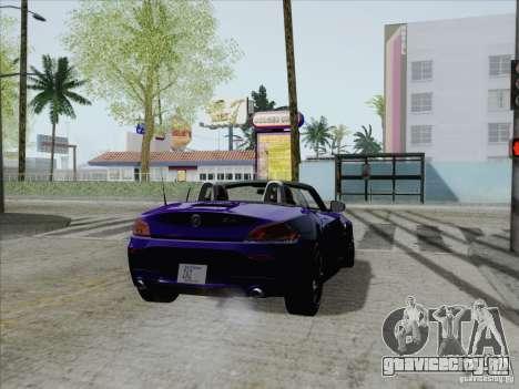 BMW Z4 2011 для GTA San Andreas вид слева