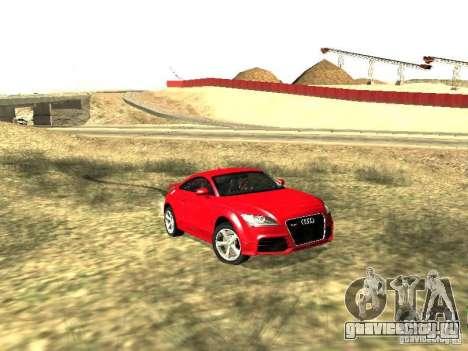 Audi TT-RS Coupe 2011 v.2.0 для GTA San Andreas вид слева