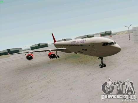 Airbus A-340-600 Virgin для GTA San Andreas