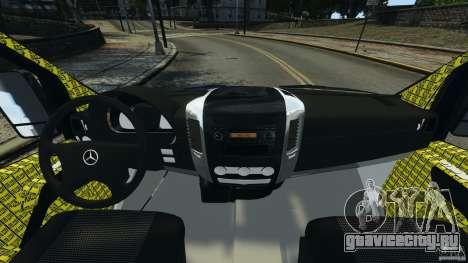 Mercedes-Benz Sprinter Police [ELS] для GTA 4 вид сзади