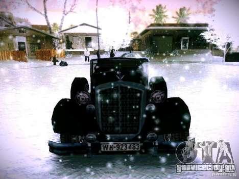 Авто из игры В тылу врага 2 для GTA San Andreas вид сзади
