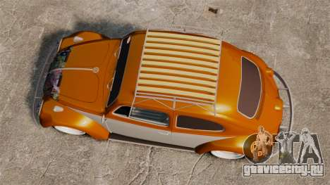 Volkswagen Fusca Edit для GTA 4 вид справа