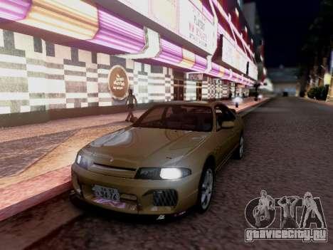 Nissan Skyline ECR33 для GTA San Andreas вид справа