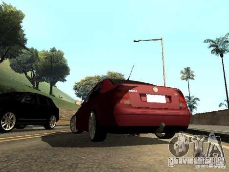 Volkswagen Bora DUB для GTA San Andreas вид слева