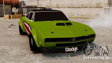 Dodge Charger RT SharkWide для GTA 4