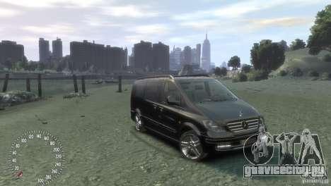 Mercedes-Benz Vito 2013 для GTA 4 вид слева