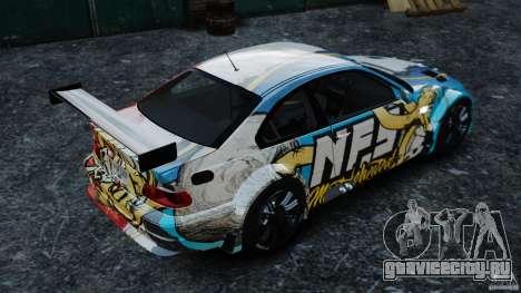 BMW M3 GTR MW 2012 для GTA 4 вид слева