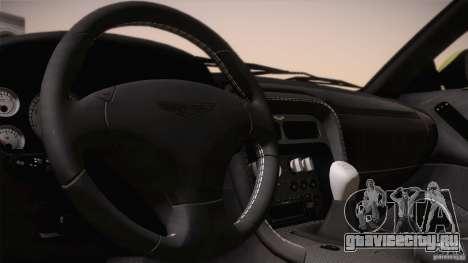 Aston Martin DB7 Zagato 2003 для GTA San Andreas