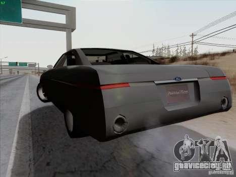 Ford Fortynine для GTA San Andreas вид сзади слева
