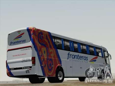 Marcopolo Paradiso 1200 G6 для GTA San Andreas вид справа