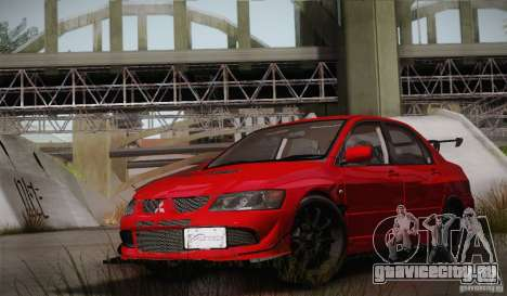 Mitsubishi Lancer Evolution VIII MR Edition для GTA San Andreas вид сбоку