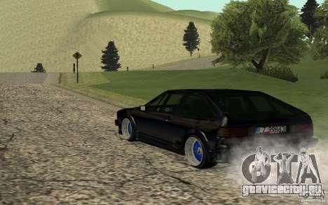 Volkswagen Scirocco для GTA San Andreas вид слева