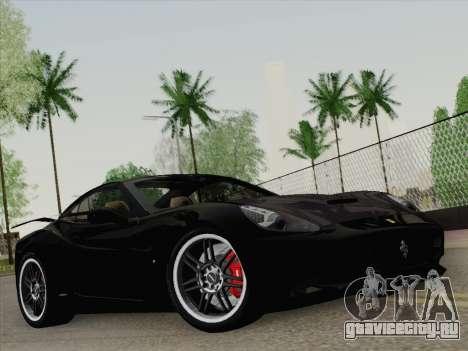 Ferrari California для GTA San Andreas двигатель