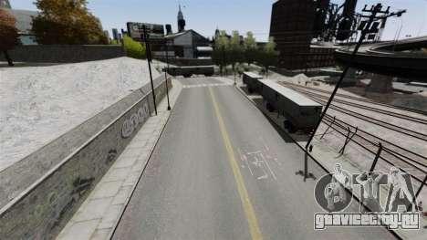 Трек в стиле Gymkhana для GTA 4 четвёртый скриншот