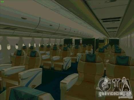 Airbus A380-800 для GTA San Andreas колёса