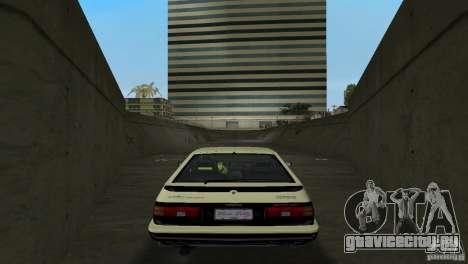 Toyota Trueno Sprinter для GTA Vice City вид справа
