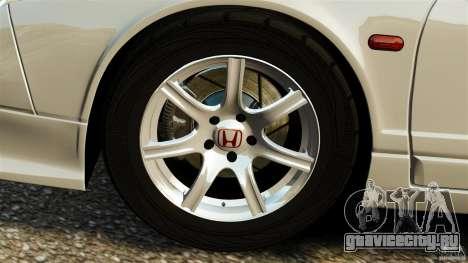 Honda NSX-R GT для GTA 4 вид сбоку