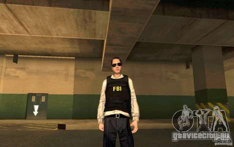 FBI HD для GTA San Andreas четвёртый скриншот