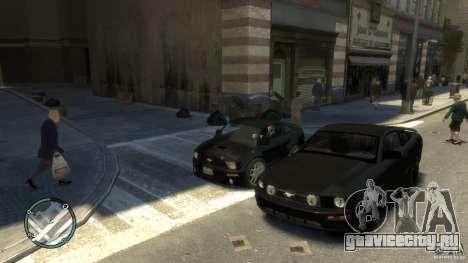 Ford Mustang Mini GT Beta для GTA 4 вид сзади