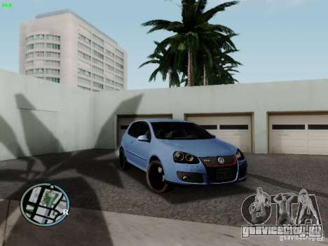 Volkswagen Golf V R32 Black edition для GTA San Andreas