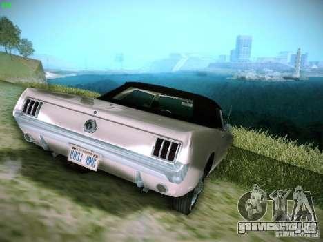 Ford Mustang Convertible 1964 для GTA San Andreas вид слева