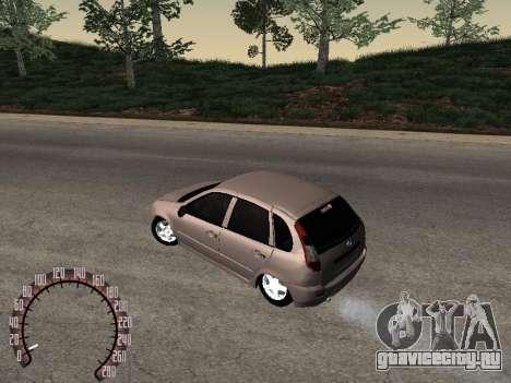 ВАЗ 1119 для GTA San Andreas вид слева