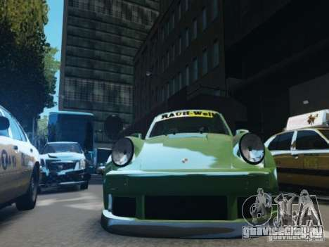 Porsche 911 Turbo RWB Pandora One Beta для GTA 4 вид сбоку